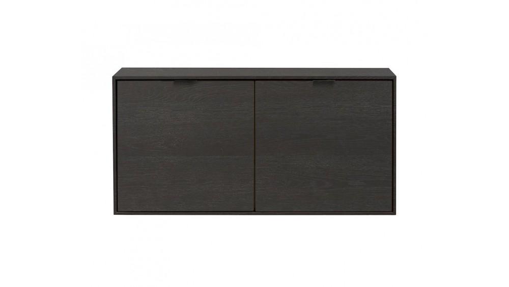Elements, Box 45 X 90 Cm. - Hang + 2-Deuren - Onyx