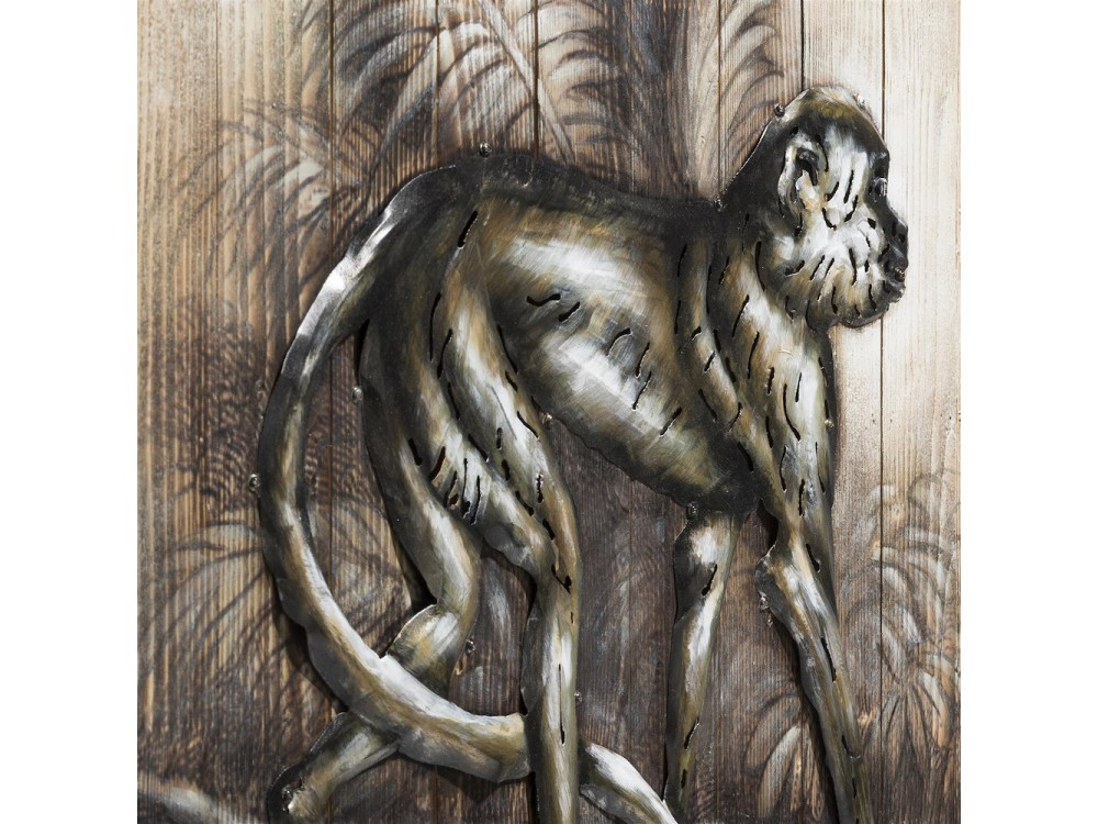 Schilderij Monkey 73 X 90 Cm