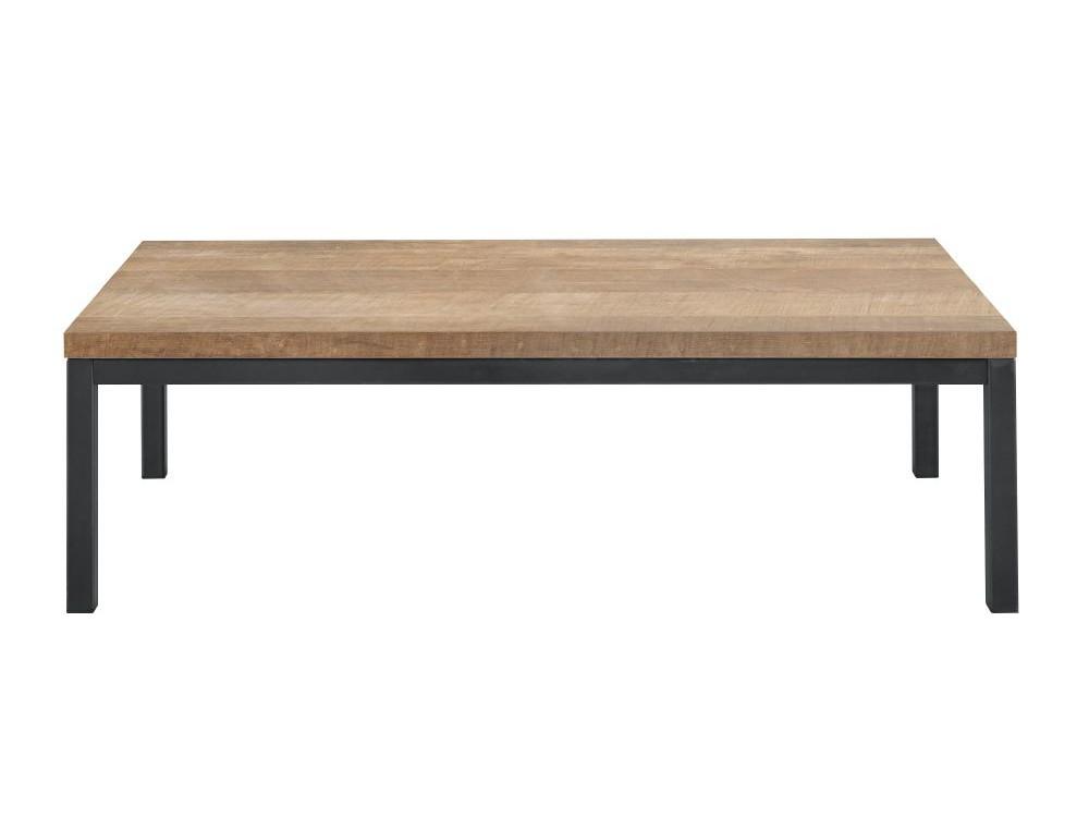 salontafel captona rechthoek houtstructuur