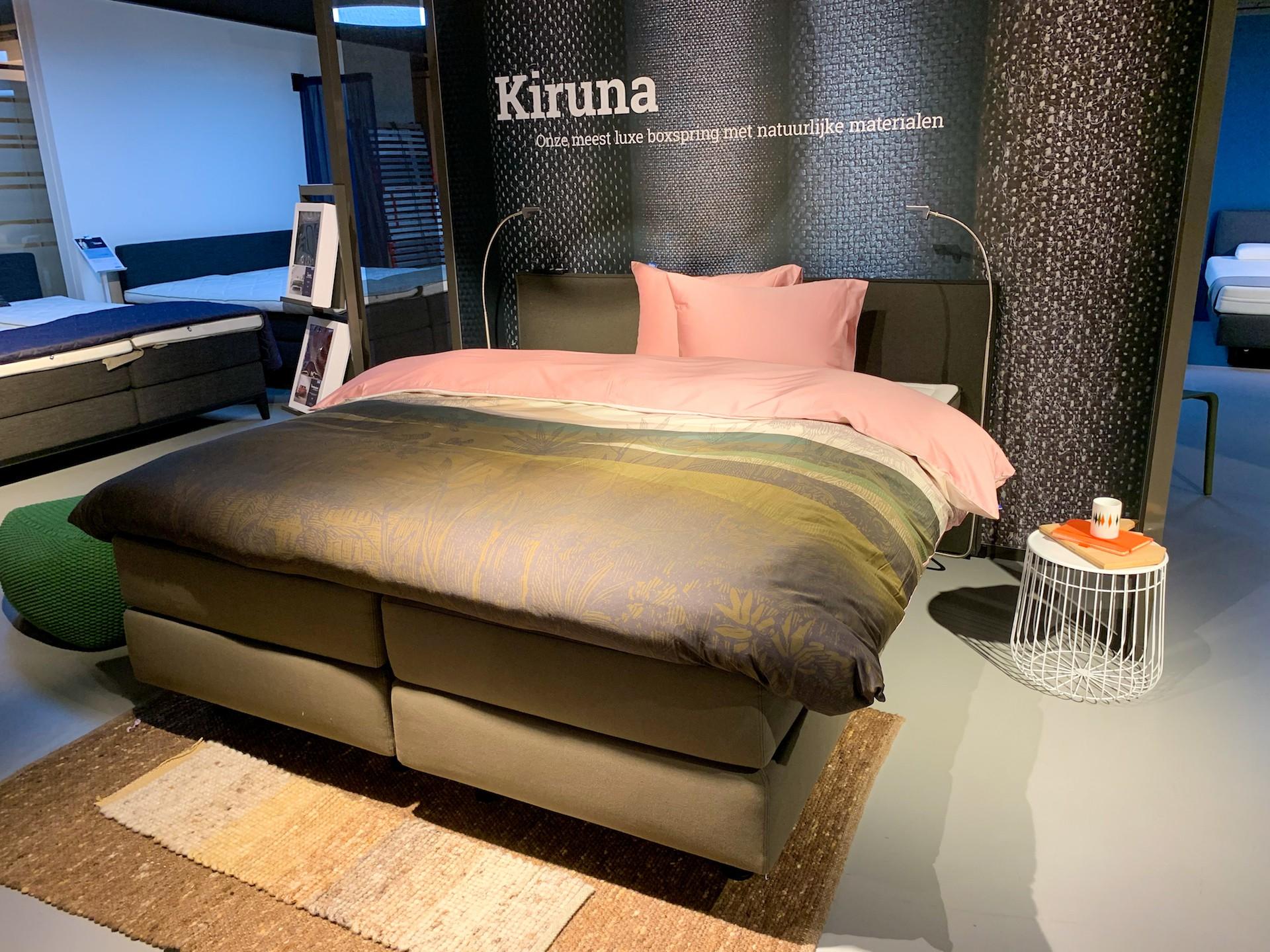 Boxspring Kiruna 180 x 210 cm  2 Motorig
