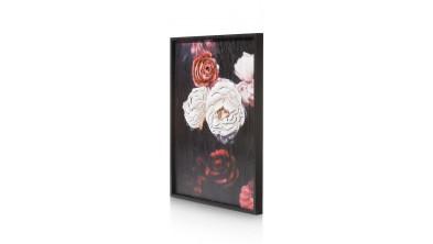 Antique Rose 3D Schilderij 73X90cm