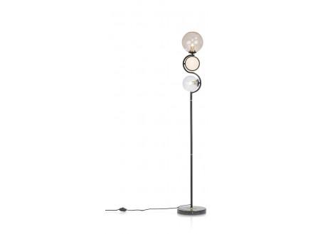 Lia Vloerlamp 1*G9+2*E14 - Bruin
