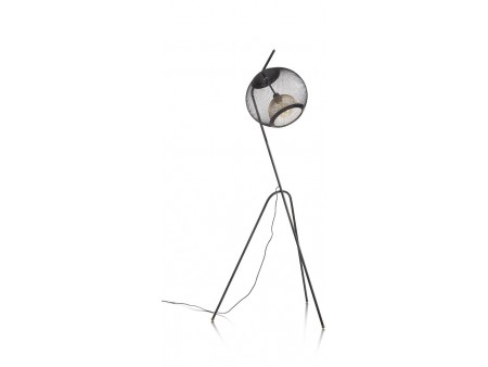 Marco Vloerlamp 1*E27 - Zwart / Antraciet