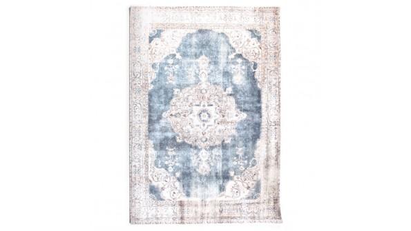 vloerkleed vintage florence beige/blauw 200x290cm