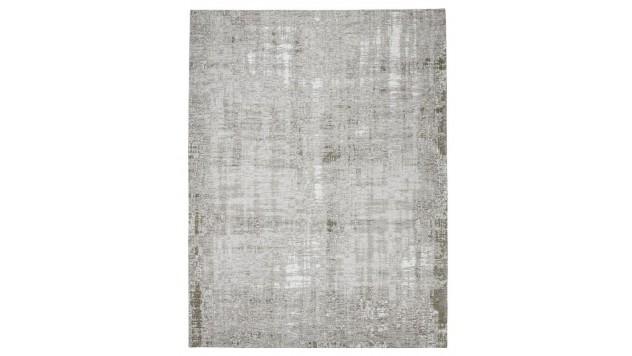 vloerkleed vintage giano zilver/bruin 170x230cm