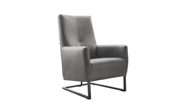 fauteuil minervo grijs