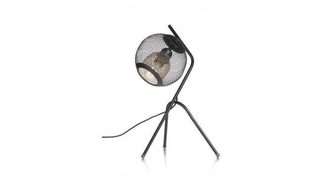 Marco Tafellamp 1*E27 - Zwart / Antraciet