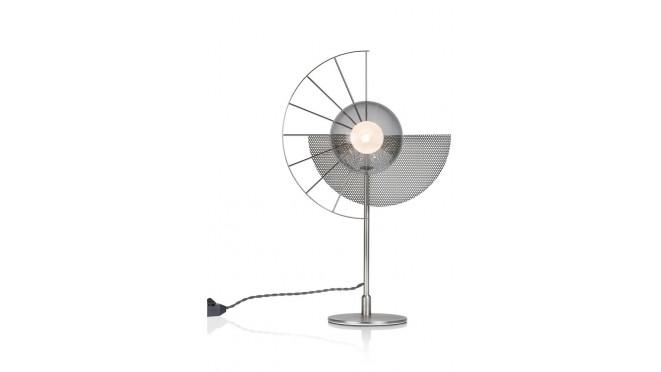 Crawford Tafellamp 1*G9 - Zwart / Antraciet