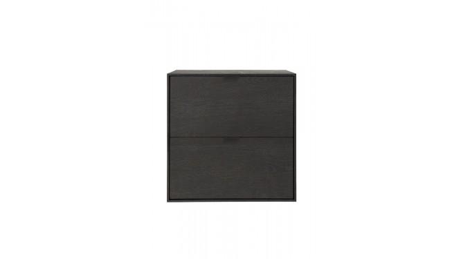 Elements, Box 60 X 60 Cm. - Hang + 2-Laden - Onyx