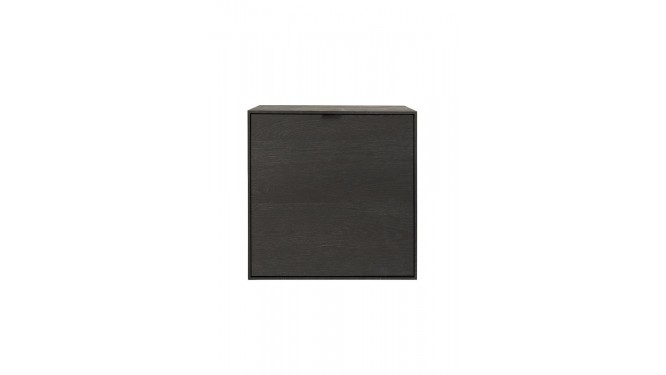 Elements, Box 60 X 60 Cm. - Hang + 1-Deur - Onyx