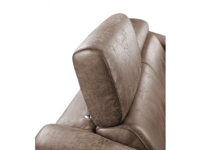 3-zitsbank met relax rigas bruin