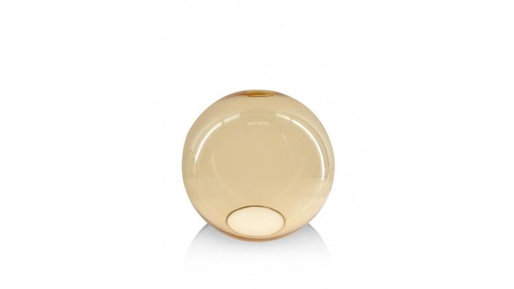 Gaby Glazen Bol D25cm - Oranje