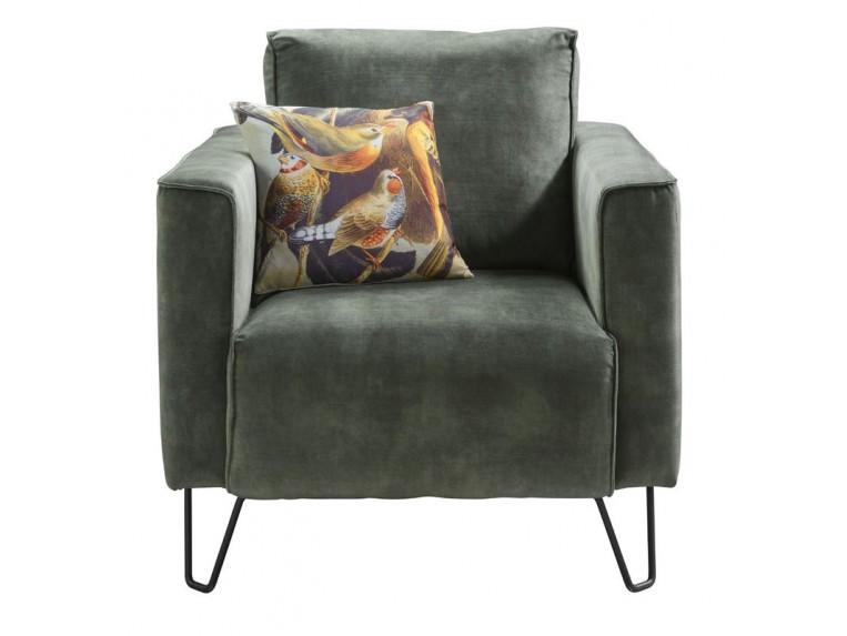 fauteuil voltia donkergroen velvet