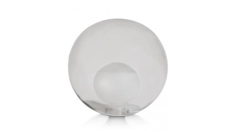 Malin - Vervanging Glas - 15 Cm Transparant / Grijs / Antraciet - Grijs