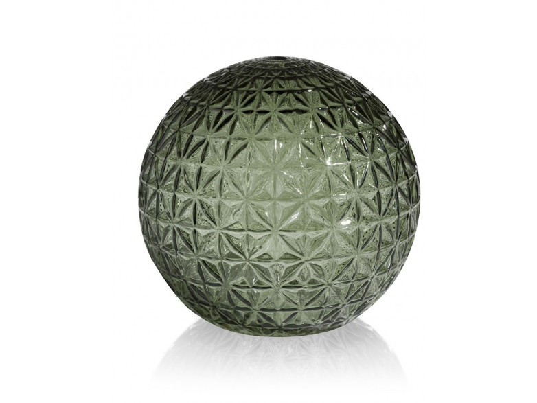 Erez Glazen Bol S D12cm - Groen