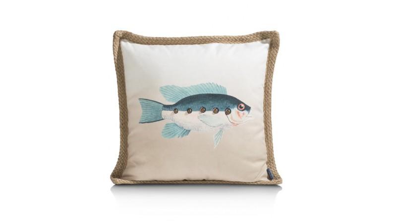 Fish Kussen 50X50cm
