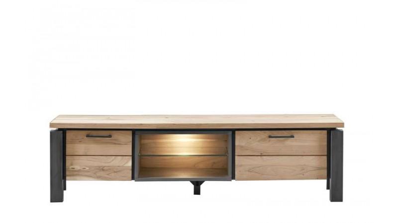 tv-meubel charly kikarhout/metaal