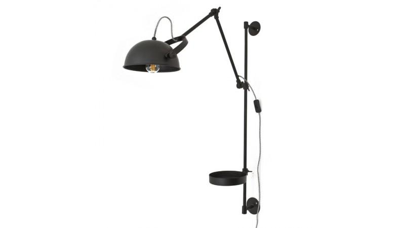 Wandlamp EAGLE Metaal Zwart