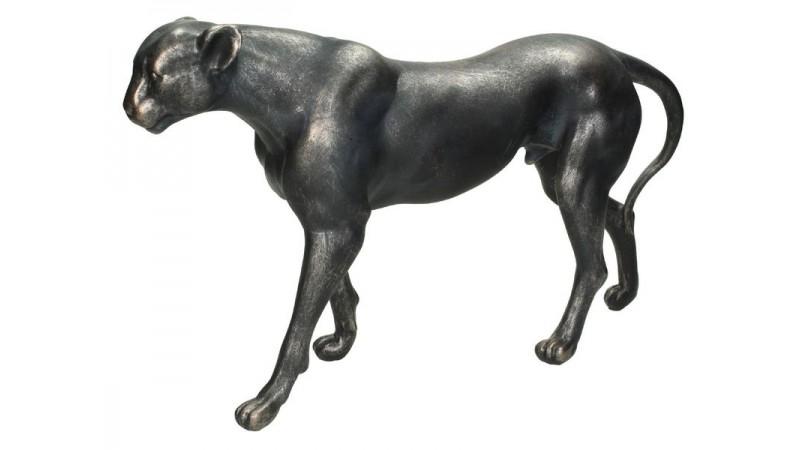 Ornament Leopard zwart