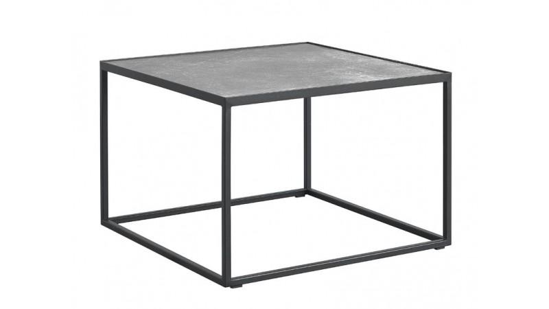 Salontafel Tolanti vierkant zwart