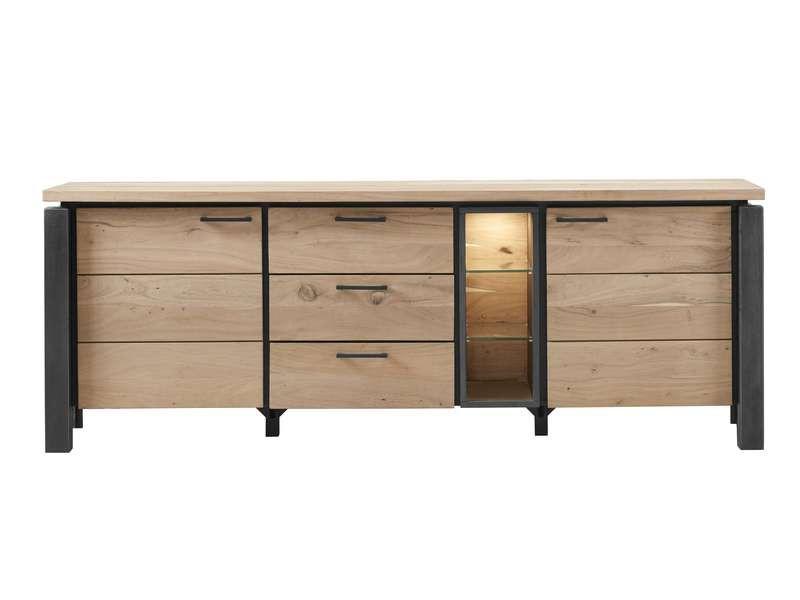 dressoir charly kikarhout/metaal