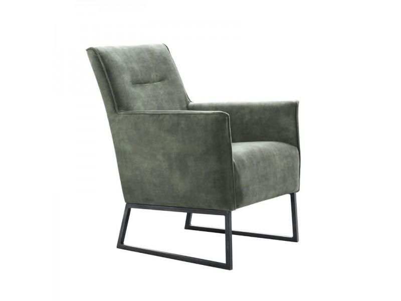 fauteuil orbetello donkergroen