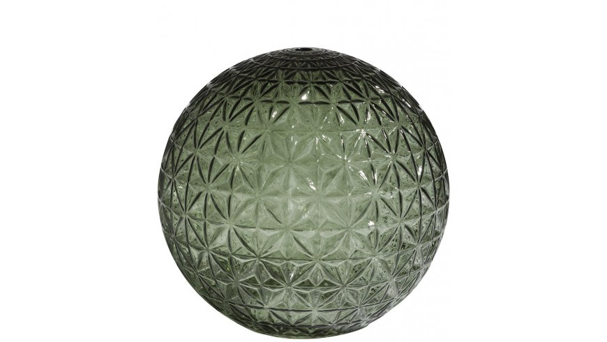 Erez Glazen Bol L D20cm - Groen