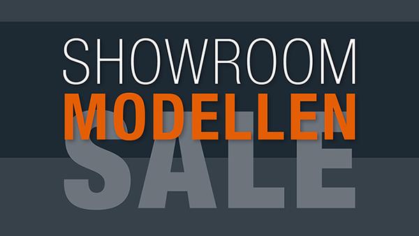 Showroommodellen SALE!